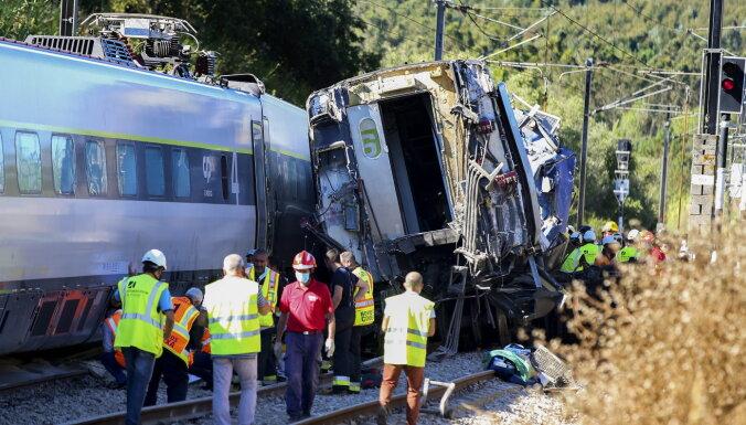 В Португалии потерпел крушение скоростной поезд, есть погибшие