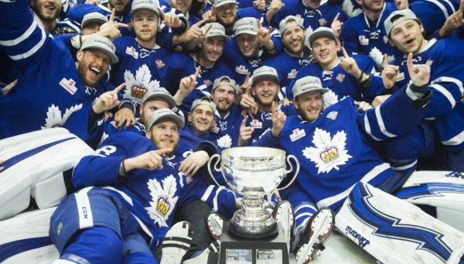 AHL Kaldera kausu pirmo reizi vēsturē izcīna Toronto 'Marlies'