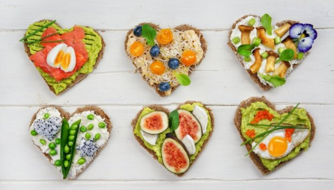 Brokastu maizītes - māksla, ko var un vajag apēst