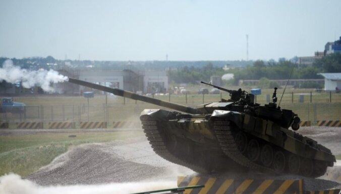 Взрыв в танке на российском полигоне: трое погибших