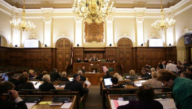 10.Saeimā izveidotas 33 parlamentārās sadarbības grupas