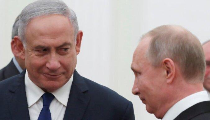 Гибель Ил-20: Путин и Нетаньяху заняли примирительную позицию