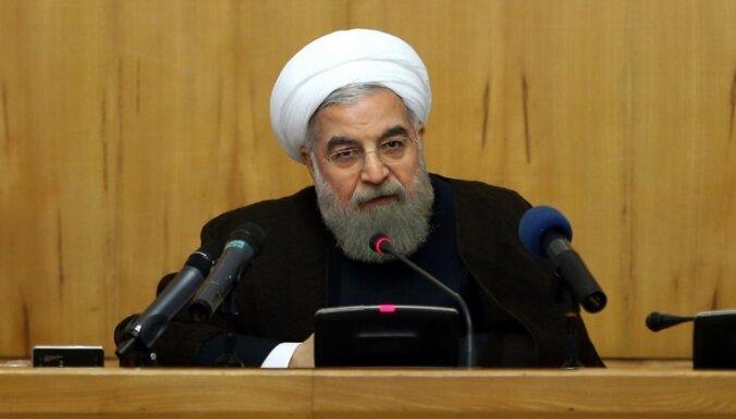 Irānas prezidents aicina musulmaņus sodīt Saūda Arābiju par tās 'noziegumiem'