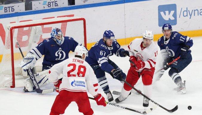 Daugaviņam rezultatīva piespēle uzvarā pret Maskavas 'Dinamo'
