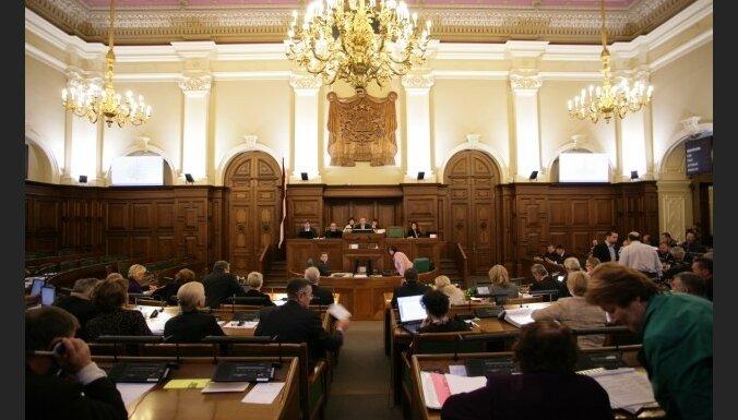 Saeima noraida LPP/LC pieprasījumu premjeram
