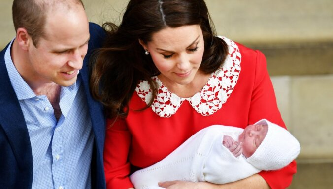 Новорожденного британского принца назвали Луи Артур Чарльз