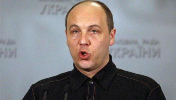 Новый спикер украинской Рады выступает за визовый режим с Россией