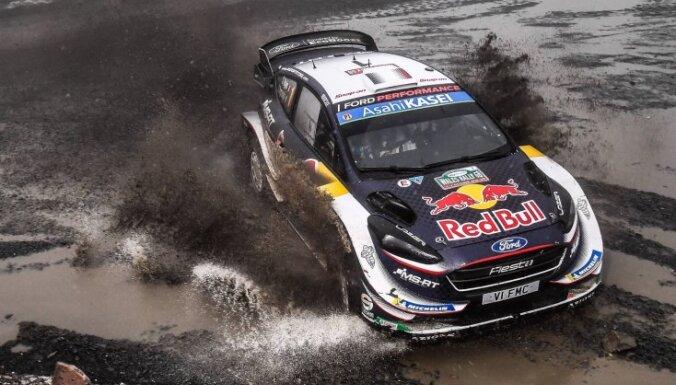 Velsas WRC rallijā pēc Tanaka avārijas uzvar Ožjērs