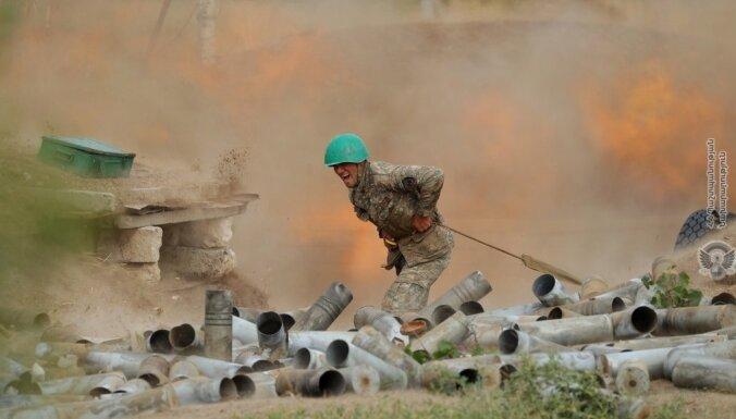 Francija: Turcija militāri iejaucas Karabahā