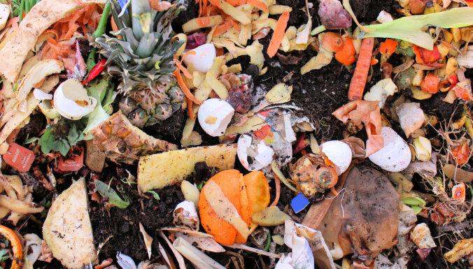 В Риге появился новый вид мусорных контейнеров