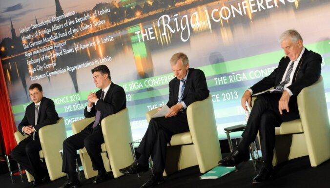Участники Рижской конференции восхищены успехами Латвии