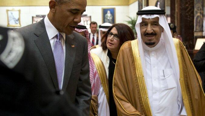 СМИ: Обаму приняли в Саудовской Аравии с нарочитым пренебрежением