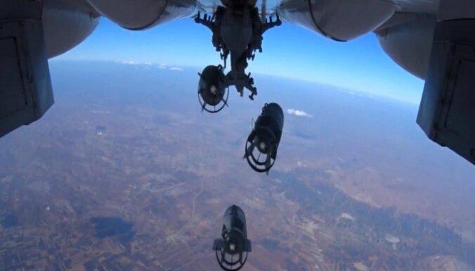 Россия усилила бомбардировки в районе падения Су-24