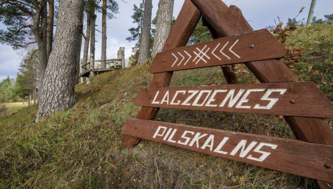 Ģimeniska pieturvieta Kurzemē: Lagzdenes pilskalns