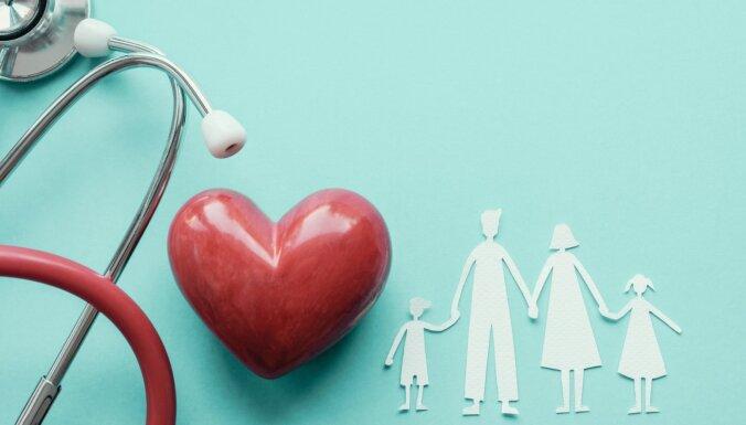 Ģimenē pārmantots augsts holesterīns – viens no infarkta iemesliem gados jauniem cilvēkiem