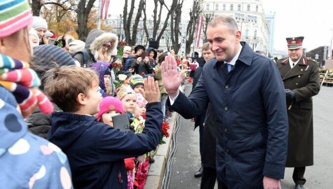 Vējonis pateicas Islandei par atbalstu Latvijas neatkarības atjaunošanā