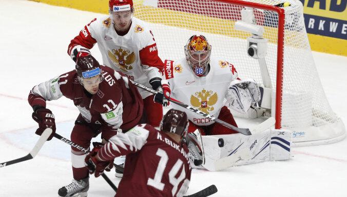 Российский хоккеист Орлов лично извинился перед игроком сборной Латвии