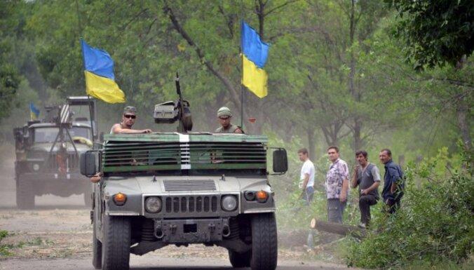 Ukrainas spēki atguvuši daļu Luhanskas