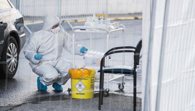 Lietuvā ar koronavīrusu inficējušies vēl septiņi cilvēki; Igaunijā – pieci