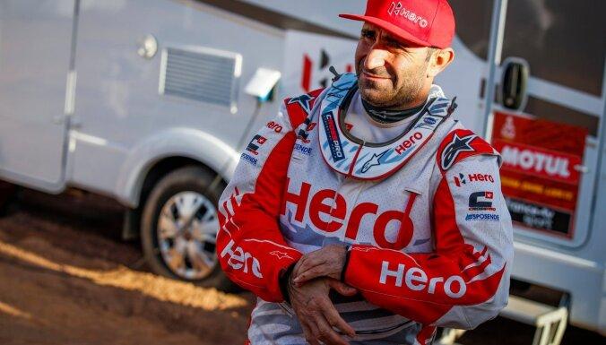 Dakaras rallijreida posmā iet bojā portugāļu motosportists Gonsālvešs