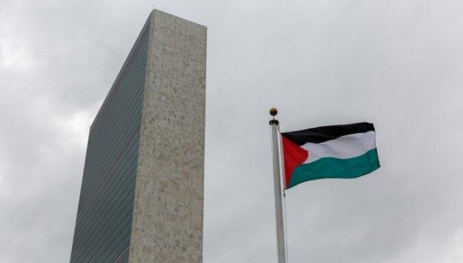 Palestīnieši noraida Trampa miera centienus