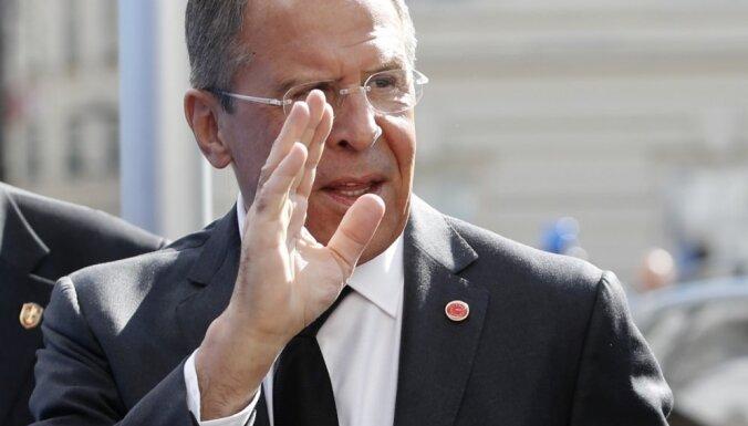 Krievija izraidīs britu diplomātus, paziņo Lavrovs