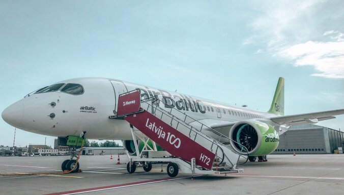 'airBaltic' saņem 18. 'Airbus A220-300' lidmašīnu