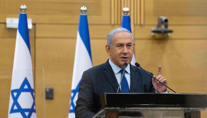 Sarunas par jaunu Izraēlas koalīciju paver ceļu uz valdību bez Netanjahu