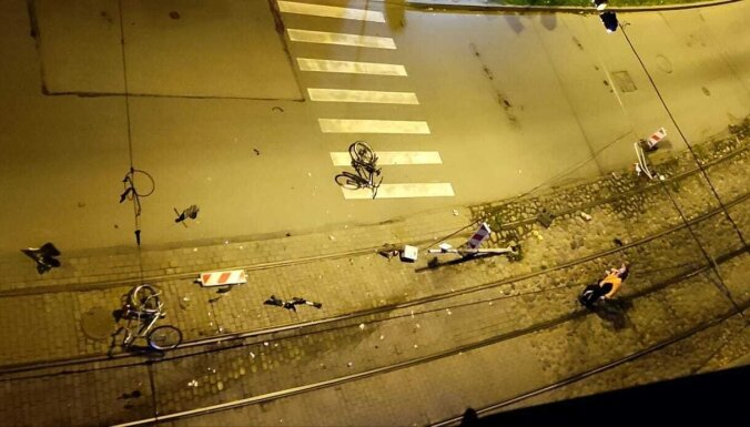 На ул. Миера сбита велосипедистка, водитель скрылся: полиция ищет свидетелей