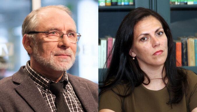 Uz Kontroles dienesta vadītāja amatu kandidē Burkāns un advokāte Znotiņa
