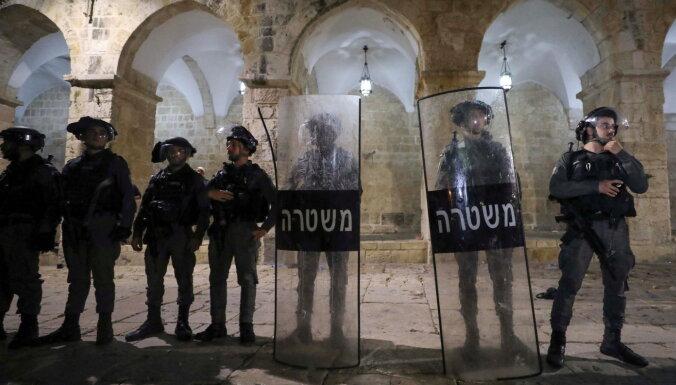 ASV un ES mudina uz spriedzes deeskalāciju Jeruzalemē