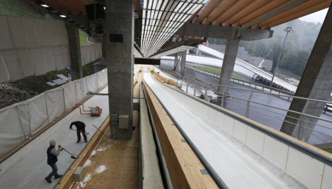 СМИ: в Сочи обрушилась крыша санно-бобслейной трассы