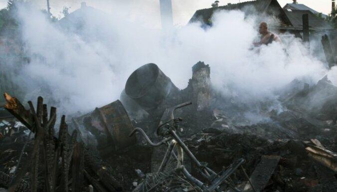 Apšaudē Slovjanskā gājuši bojā divi Ukrainas armijas kareivji