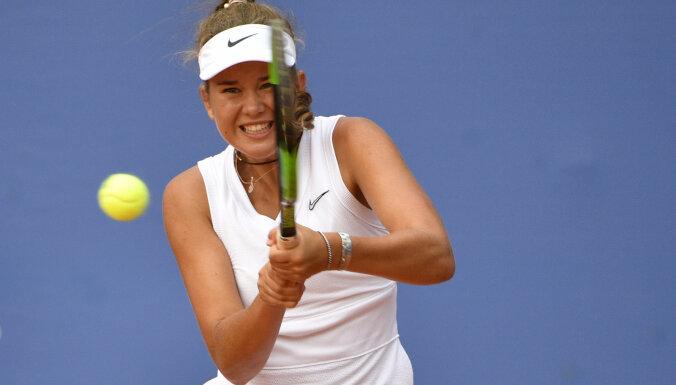 Латвийская теннисистка Бартоне выиграла US Open в паре с россиянкой