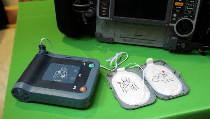 Гипермаркеты Rimi оснастят аппаратурой для спасения жизни