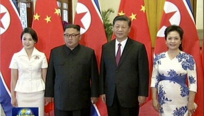 Ким Чен Ын назвал Китай великим дружественным соседом КНДР