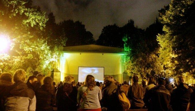 'Radām novadam': Brīvdabas kino un tematiskās ballītes Jelgavas novadā