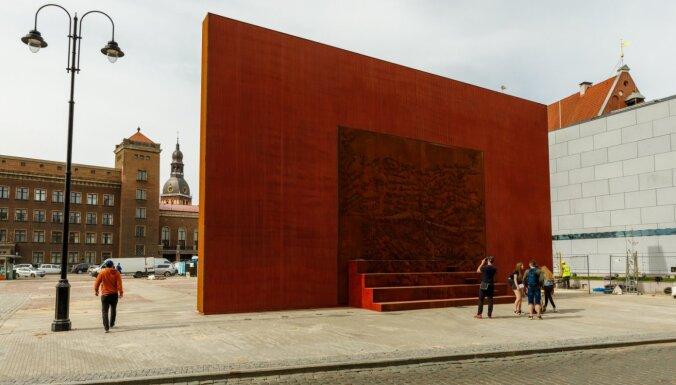 В Риге появился памятник жертвам советской оккупации