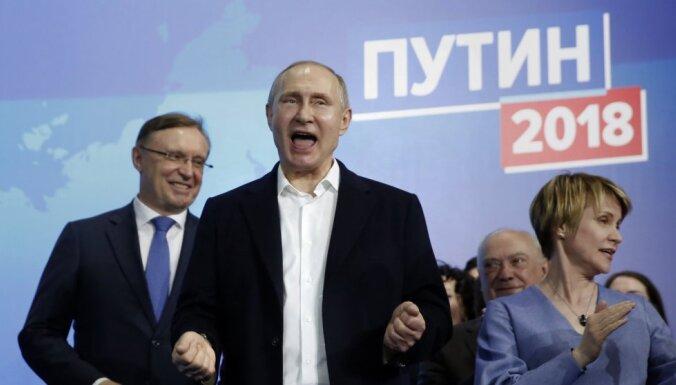 Западные лидеры не спешат поздравлять Путина с победой на выборах