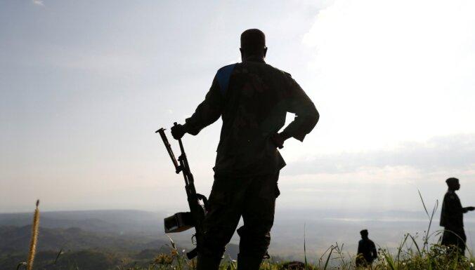 Apšaudēs Kongo DR nogalināti 36 cilvēki