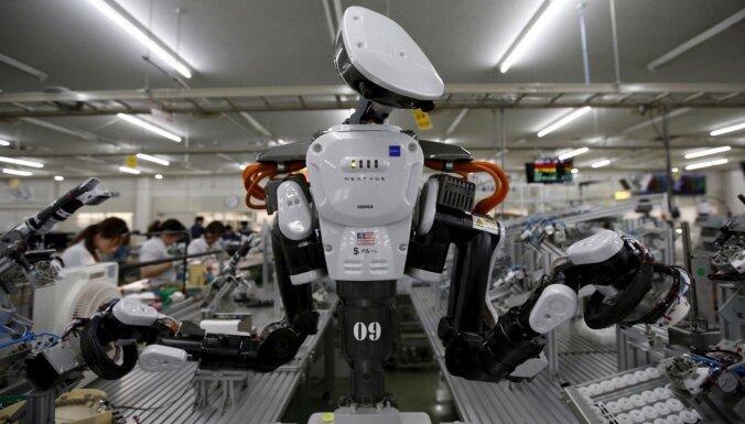 Robotu revolūcija: līdz 2025. gadam iekārtas veiks pusi no darba pienākumiem
