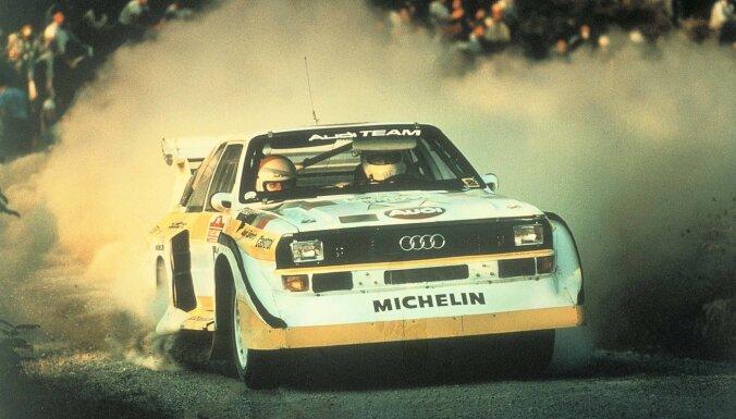 Spožākie mirkļi 'Audi' leģendārās pilnpiedziņas 'quattro' vēsturē
