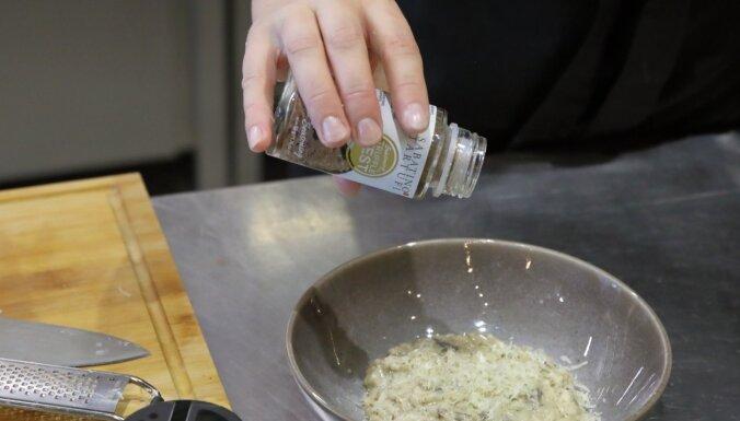 Foto recepte soli pa solim: krēmīgs sēņu risoto ar maigu trifeļu noti