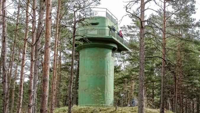 Pieejams jauns militārā mantojuma objekts – 46. krasta aizsardzības baterijas uguns koriģēšanas tornis