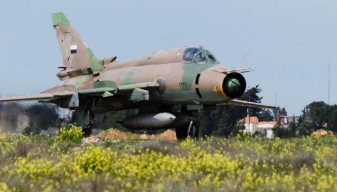 Коалиция во главе с США сбила самолет сирийской армии