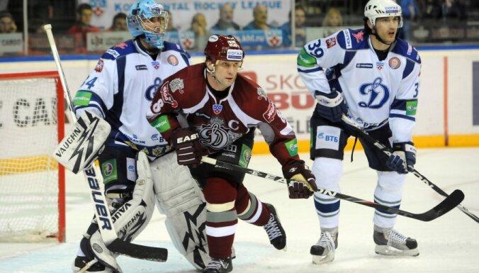 Pirmo spēli Gagarina kausā savā laukumā aizvadīs Rīgas 'Dinamo'