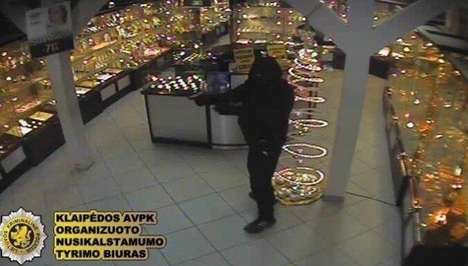 ФОТО: задержана банда латвийцев, грабившая ювелирные магазины в Литве
