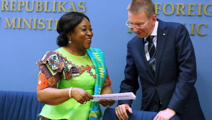 Ринкевич: Гана становится хорошим партнером Латвии в Западной Африке