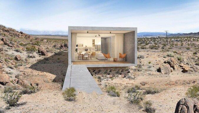 """ФОТО. Шедевр минимализма: дом в Калифорнии, """"сливающийся"""" с окружающей средой"""