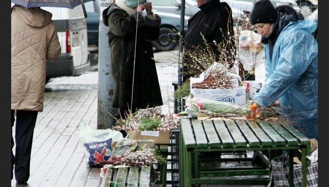 Nākamnedēļ Latvijā gaidāms galvenokārt mākoņains un lietains laiks
